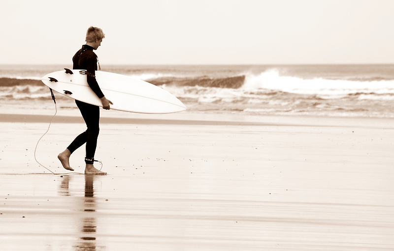 The Surfer by Jenny Dean