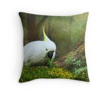 Forage the Forrest Floor Throw Pillow
