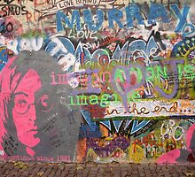 John Lennon Wall, Prague, Czech Republic by ChrisCiolli