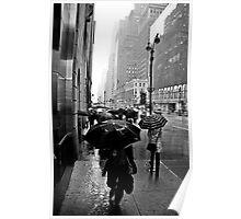 Rainy 42nd St. Poster