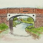 Canal Bridge, Pelsall by Lynne  Kirby
