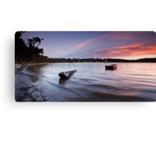 Eggs and Bacon Bay Sunset Canvas Print