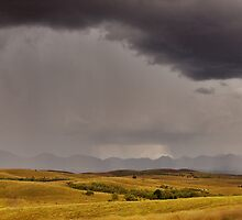 Summer Storm, Flinders Ranges by Neville Jones