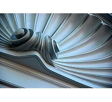 Scalloped Pediment Photographic Print