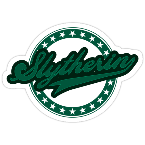 Slytherin Baseball Style Logo by liquidsouldes