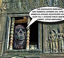 Rasta Zombie in Cambodia by GolemAura