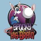 Spocky & His Brain by trekspanner