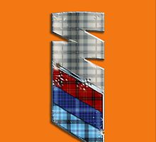 ///M Tartan VO iPhone case by Benjamin Whealing