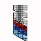 ///M Tartan AW iPhone case by Benjamin Whealing