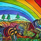 Rainbow Chasers by Monica Engeler