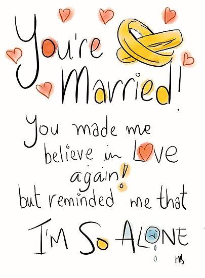 Awkward wedding card.  by twisteddoodles