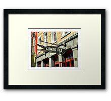 """""""Gator Gumbo""""   Framed Print"""