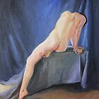 Male Nude- in Oils by Rachel Hames