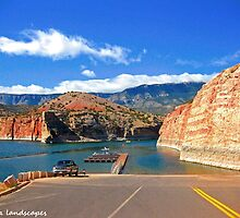 Bighorn canyon boat launch by Erykah36