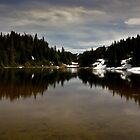 Mountain lake II by CormacEby