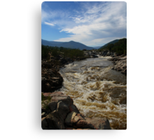 Snowy River NSW HDR #1 Canvas Print