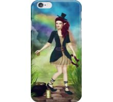 At Rainbow's End iPhone Case/Skin