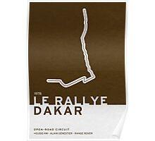 Legendary Races - 1978 Le rallye Dakar Poster