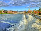 Marlow Weir and Bridge - HDR by Colin  Williams Photography
