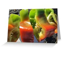 Spicy Slices Greeting Card