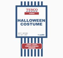 Tesco Value Halloween Costume by Melissa Ellen