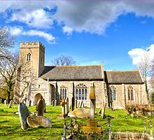 All Staints Church, EastTuddenham (HDR) by J-images
