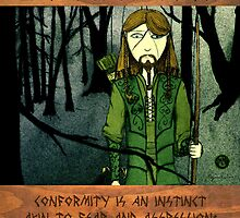 Ranger Hrothgar Says - Conformity is an Instinct by Toradellin