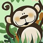 Jungle Monkey Case by JessDesigns