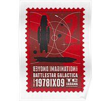 Starship 02 poststamp - Battlestar Galactica  Poster