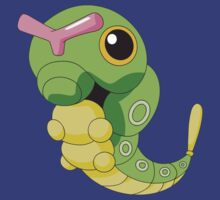 Pokemon huge caterpie by alexcool