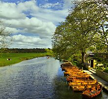 Boathouse Restaurant On The Stour by Darren Burroughs
