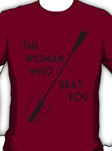 The woman who beat Sherlock Holmes T-Shirt