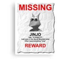 Missing Jinjo Canvas Print
