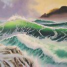 Seascape #3 by Shelley O'Hara Plunkett
