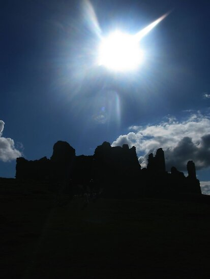 Carreg Cennen Castle by AlvinBurt