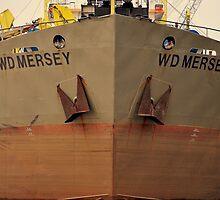 Bow Shot WD Mersey. by Stan Owen