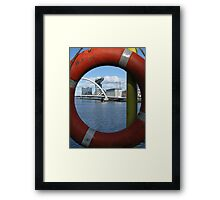 Nautical Capture Framed Print