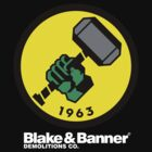 Blake & Banner Demolitions Co. (Big Logo White Text) by Eozen