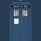 Doctor Who TARDIS iphone tenth doctor by nouvellegamine