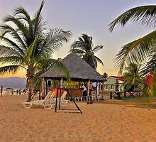 Caribbean sea beach by Erykah36