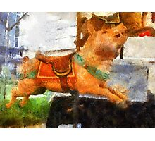 Childhood Dreams II: This Little Piggy Went Wee, Wee, Wee All The Way Home Photographic Print