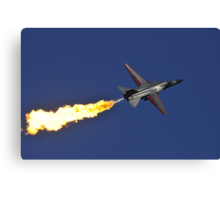 F-111 Dump and Burn Canvas Print