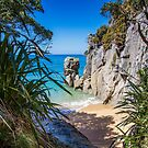 Secluded Beach - Abel Tasman National Park by Kai Lehnberg