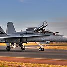 F/A-18 Hornet, A21-4, 77 Squadron, RAAF Williamtown by Tim Pruyn