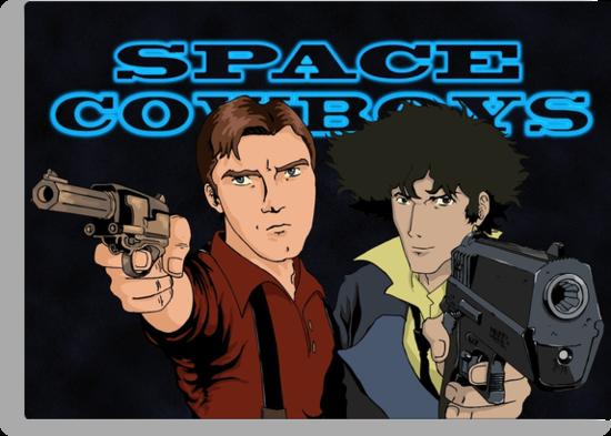 Space Cowboys Spike & Mal by dmbarnham