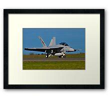 F/A-18F Super Hornet, A44-203, 1 Squadron, RAAF Amberley Framed Print