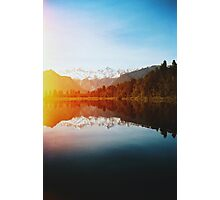 Lake Matheson Photographic Print