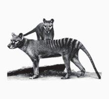 Thylacine - Extinct Tasmanian Tiger T-Shirt