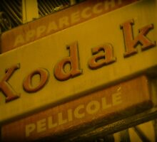 Old Fashioned Kodak Sign by fred113