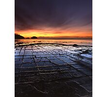 """Tessellated Pavement"" ∞ Eaglehawk Neck, Tasmania - Australia Photographic Print"